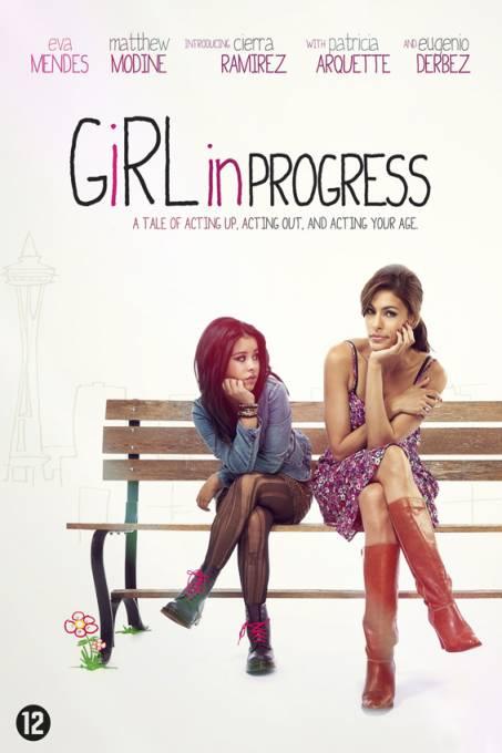 Movie progress girl in
